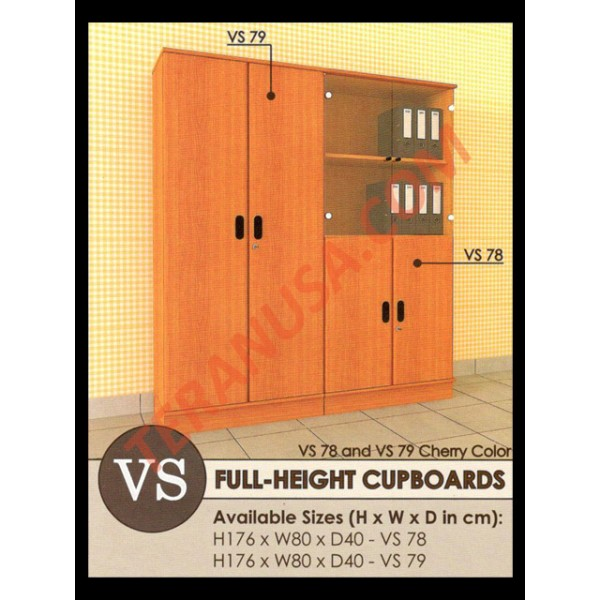 Enzo Full-Height Cupboards Vs 79